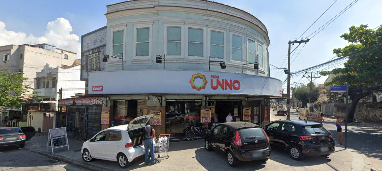 Supermercados Campeão - Fachada loja Ramos
