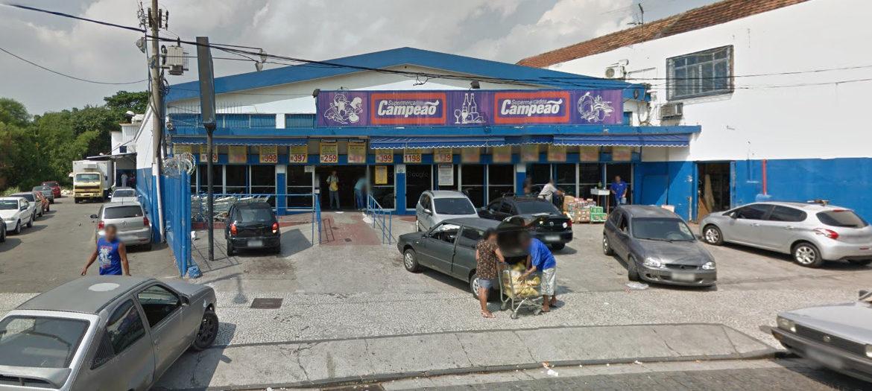 Supermercados Campeão - Fachada loja Rocha Miranda