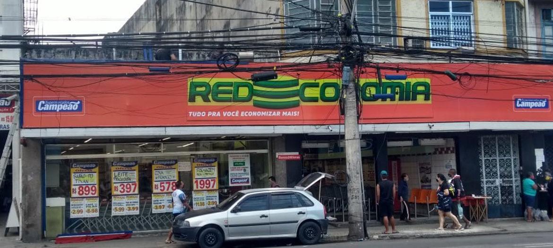 Supermercados Campeão - Fachada loja São Cristóvão