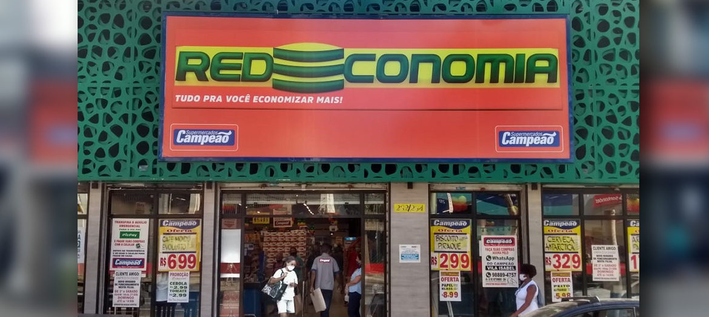 Supermercados Campeão - Fachada loja Vila Isabel