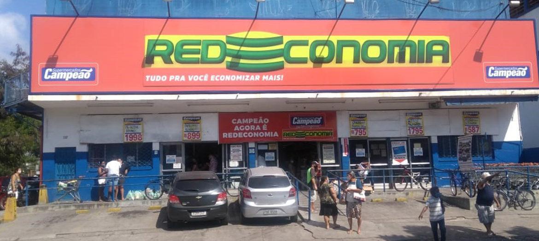 Supermercados Campeão - Fachada loja Jardim América