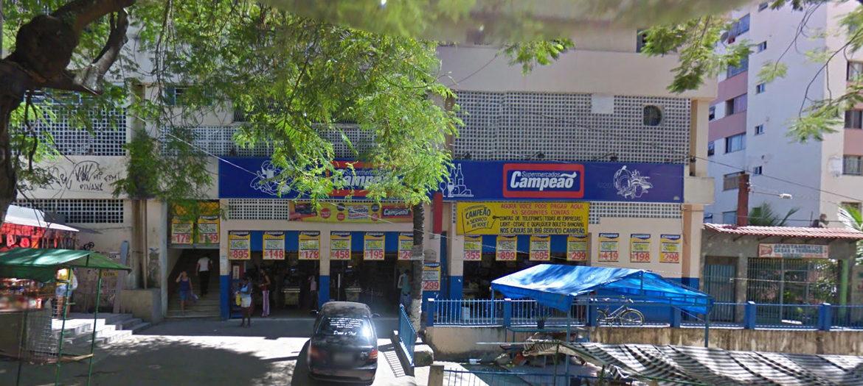 Supermercados Campeão - Fachada loja Pavuna