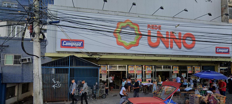 Supermercados Campeão - Fachada loja Madureira