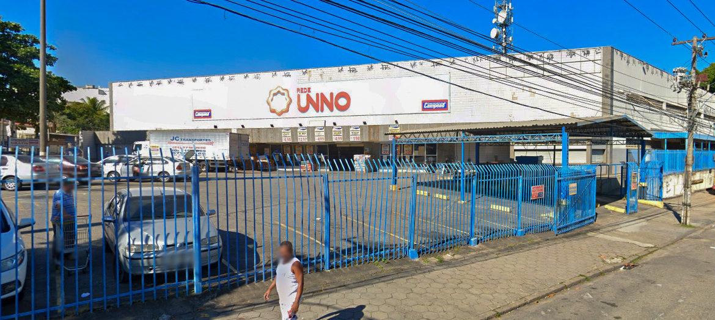 Supermercados Campeão - Fachada loja Santa Cruz
